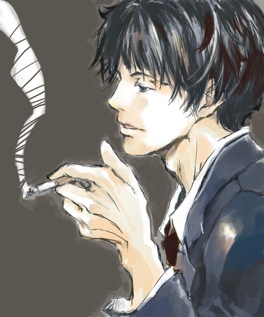 背広の煙草