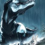 雨とT-REX